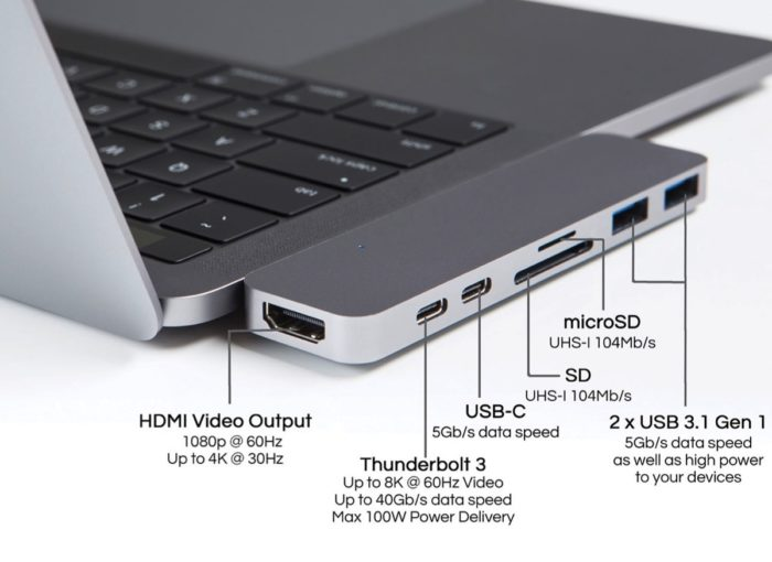 Hyperdrive-Thunderbolt-3-USB-C-Hub-for-2016-MacBook-Pro-space-grey
